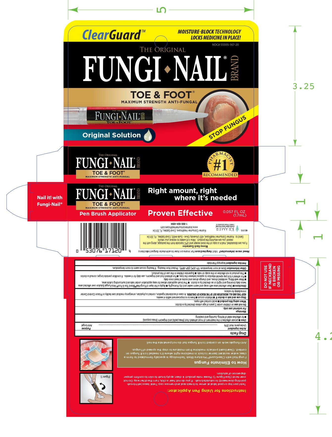 Fungi Nail Toe And Foot Pen Information, Side Effects, Warnings and ...