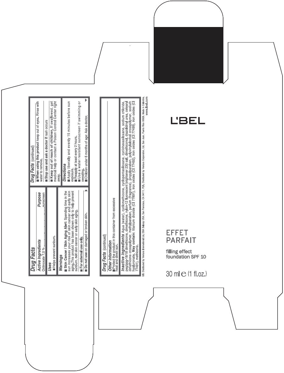 Lbel Filling Effect Foundation Spf 10 Information, Side Effects