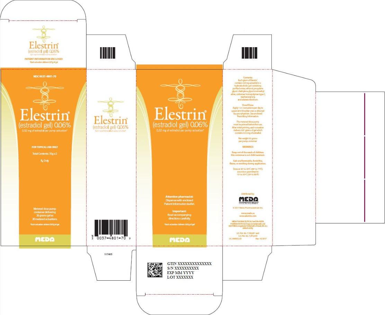 DailyMed - ELESTRIN- estradiol gel, metered