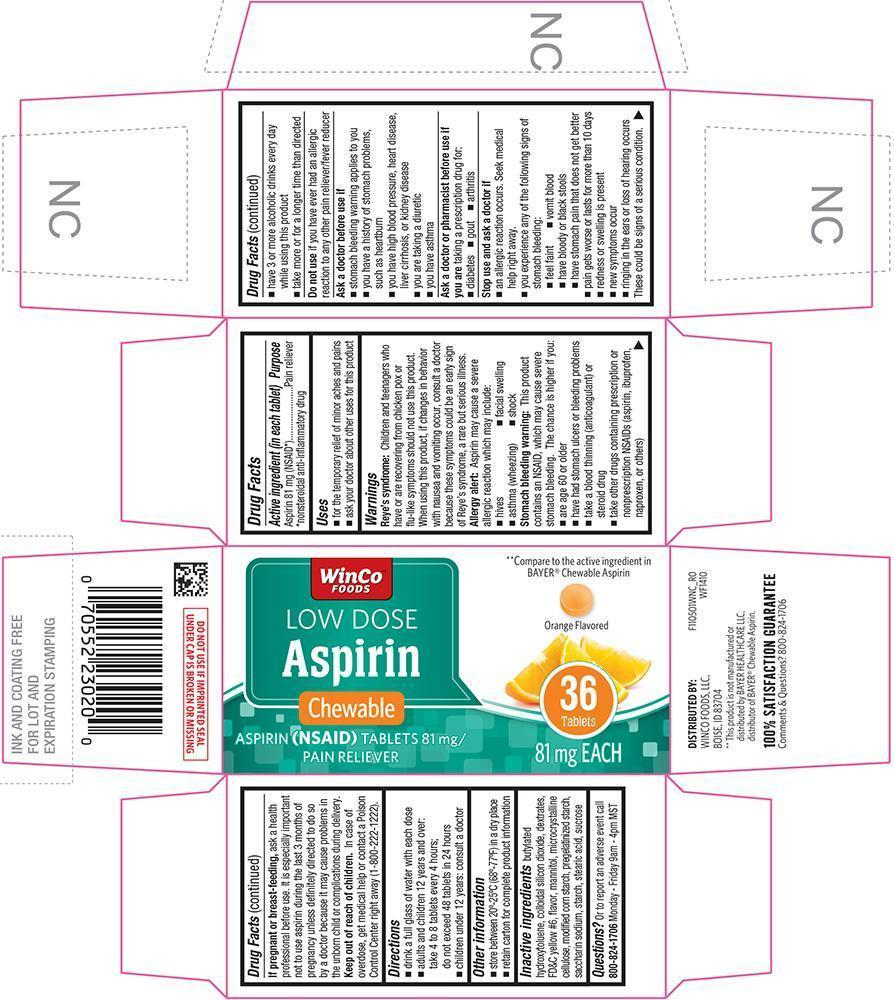 Aspirin Chewable Low Dose Information Side Effects