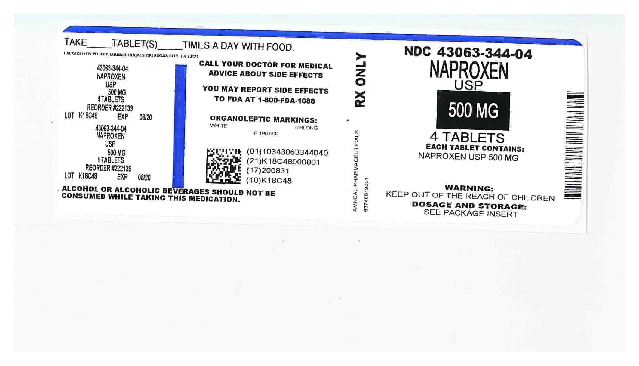Naproxen Information, Side Effects, Warnings and Recalls