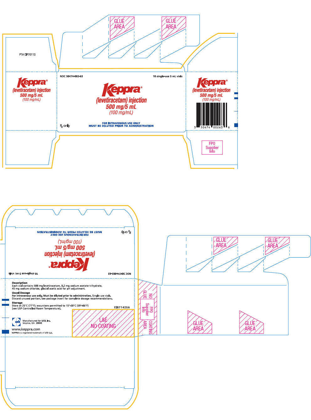 keppra injection package insert pdf
