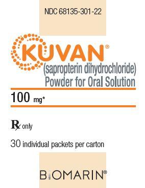 RX ITEM-Kuvan 100Mg Tab 120 By Biomarin Pharma