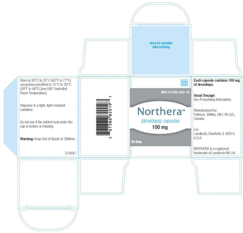 RX ITEM-Northera- Droxidopa Capsule 100Mg 90