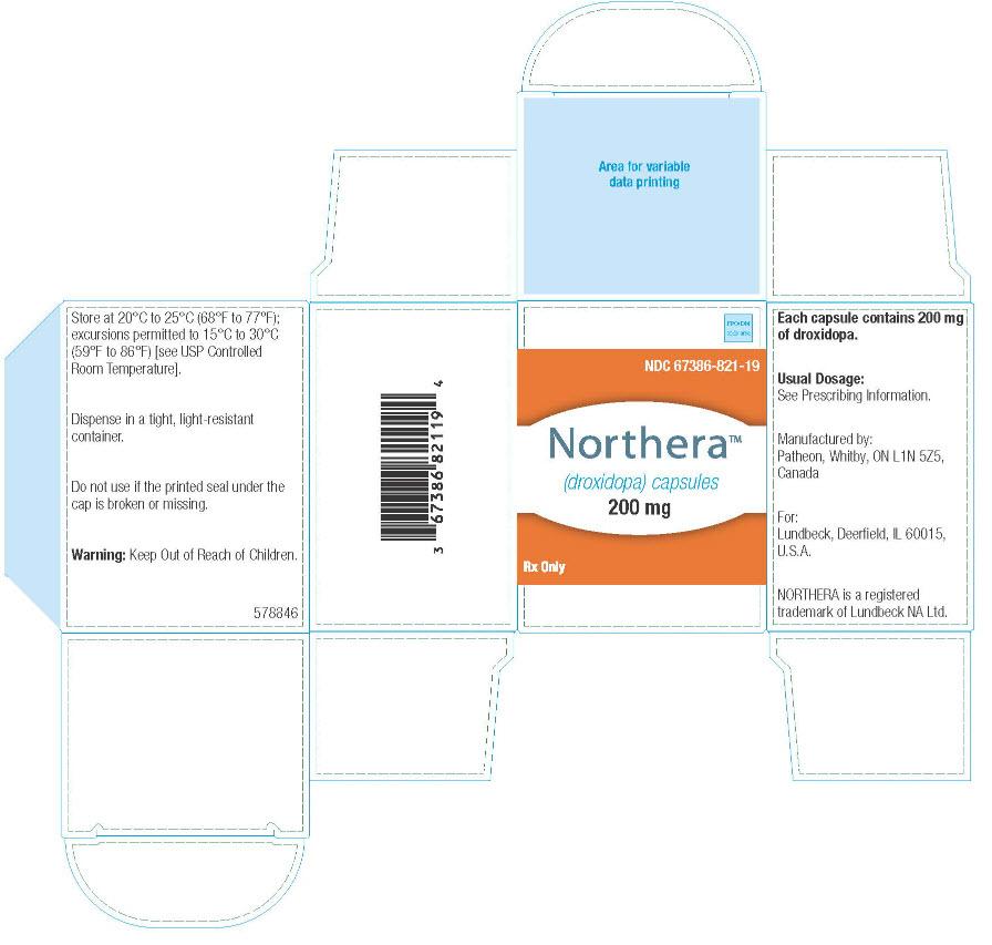 RX ITEM-Northera- Droxidopa Capsule 200Mg 90