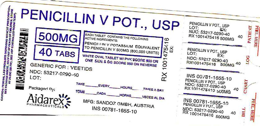 Dailymed penicillin v potasium penicillin v potasium tablet for Penicillin v tablets