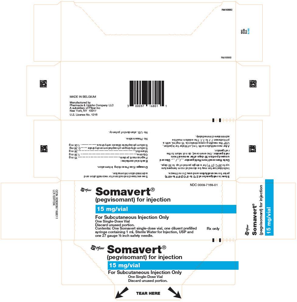 RX ITEM-Somavert 25Mg (25Mg) Powder Vial 1X1 Ea