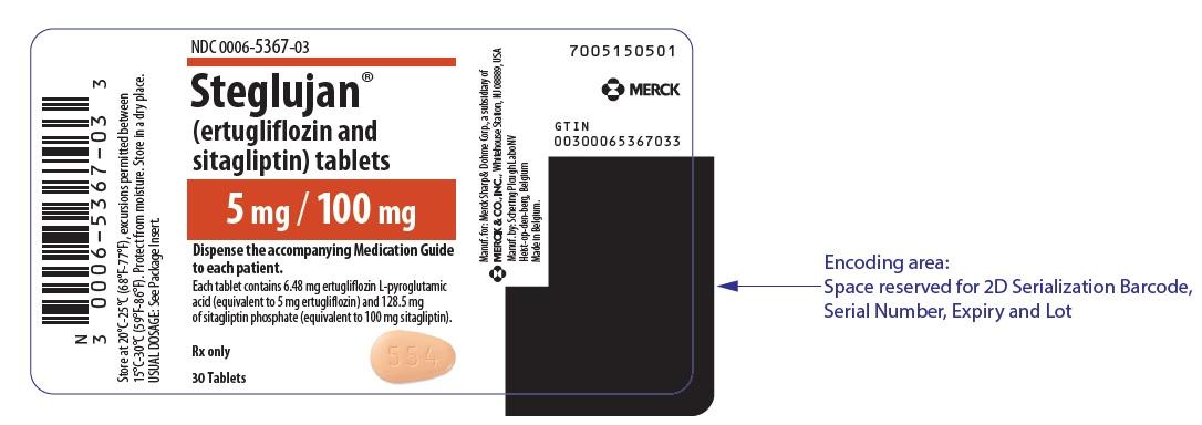Rx Item-Steglujan 5Mg/100mg Tab 30 Merck