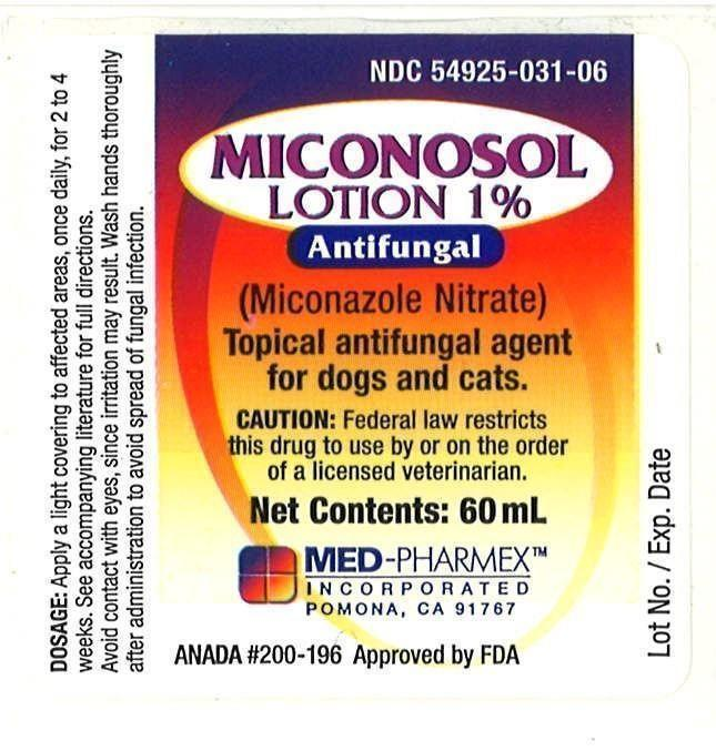Miconosol Lotion 60mL Label