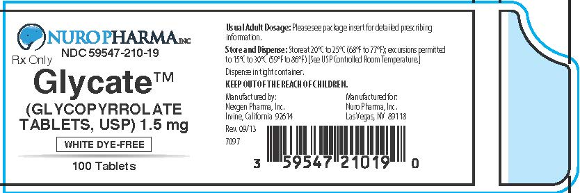 100 Count Container Label