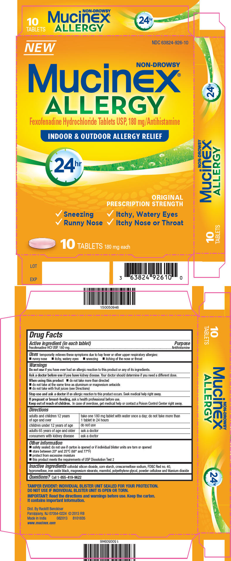 Principal Display Panel - 180 mg Blister Pack Carton