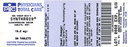 image of 0.2 mg package label