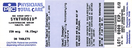 image of 0.15 mg package label