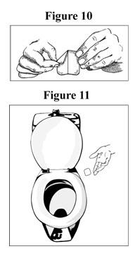 Applying a Fentanyl Transdermal System Figure 10 and 11