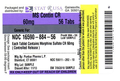 MS CONTIN CR 60MG LABEL IMAGE