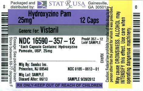 HYDROXY PAM 25 MG LABEL Image
