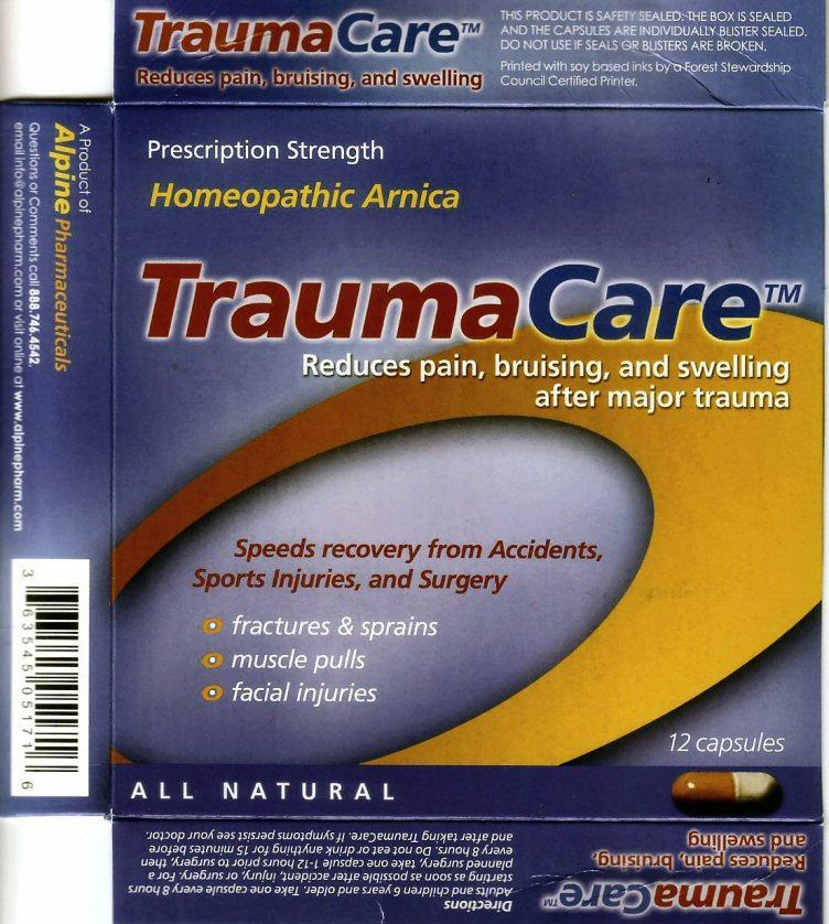 TraumaCare1 label
