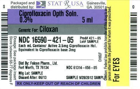 CIPRO OPTH SOLN 3_5 mg LABEL Image