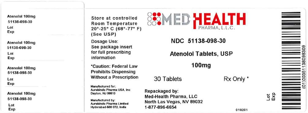 PACKAGE LABEL-PRINCIPAL DISPLAY PANEL - 100 mg (100 Tablet Bottle)