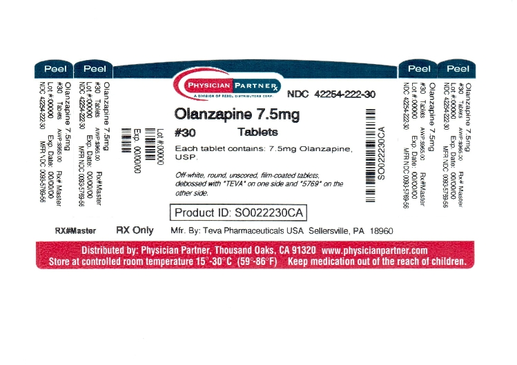 Olanzapine 7.5mg