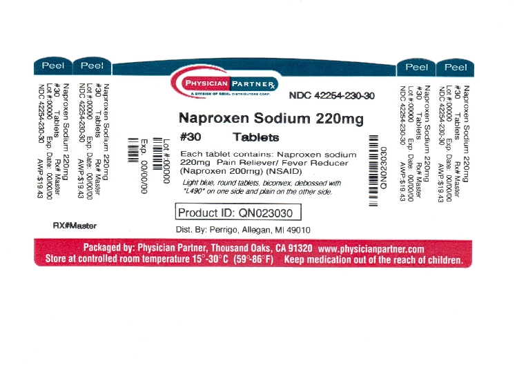 Naproxen Sodium 220mg