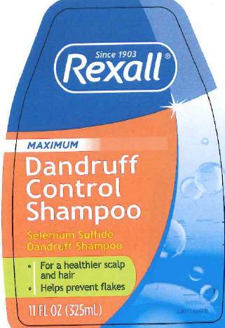 Medicated Dandruff (Selenium Sulfide) Shampoo [Dolgencorp.llc]