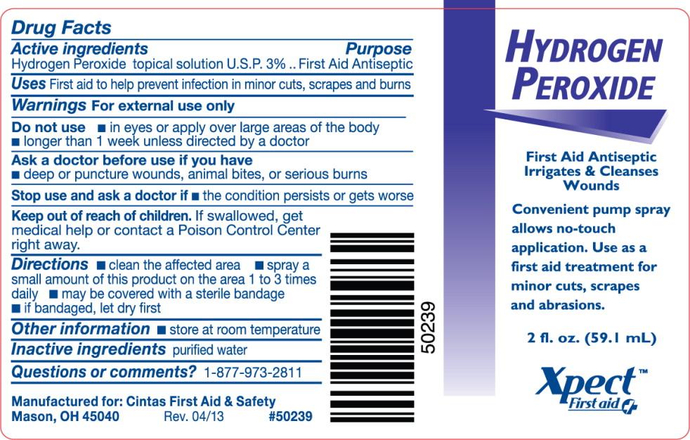 Hydrogen Peroxide Spray [Cintas First Aid & Safety]