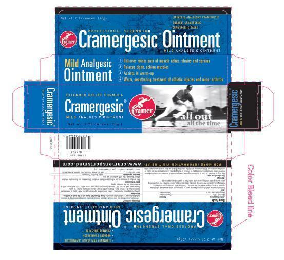 Cramergesic (Menthol, Methyl Salicylate) Ointment [Cramer Products Inc]