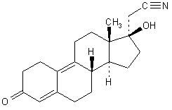 Dienogest Chemical Structure