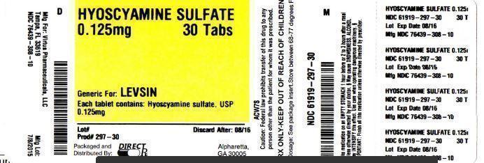 Direct Rx (Hyoscyamine Sulfate) Tablet [Direct Rx]
