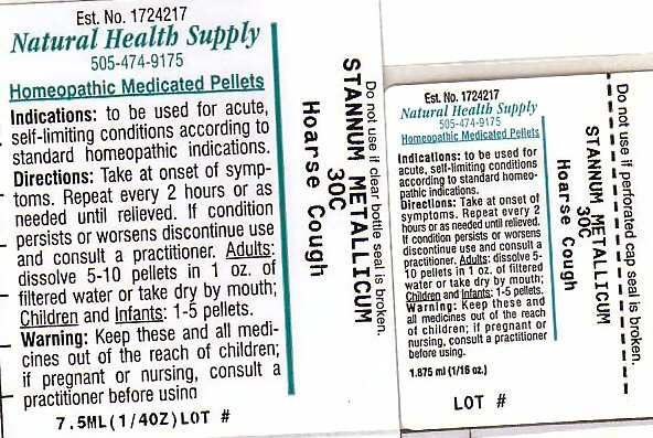 Hoarse Cough (Tin) Pellet [Natural Health Supply]