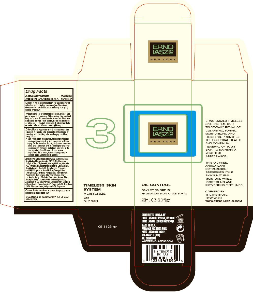 Oil-control Day Spf 15 (Avobenzone And Octinoxate) Lotion [Erno Laszlo, Inc.]