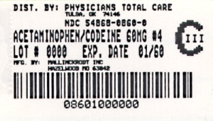 300mg/60mg Label
