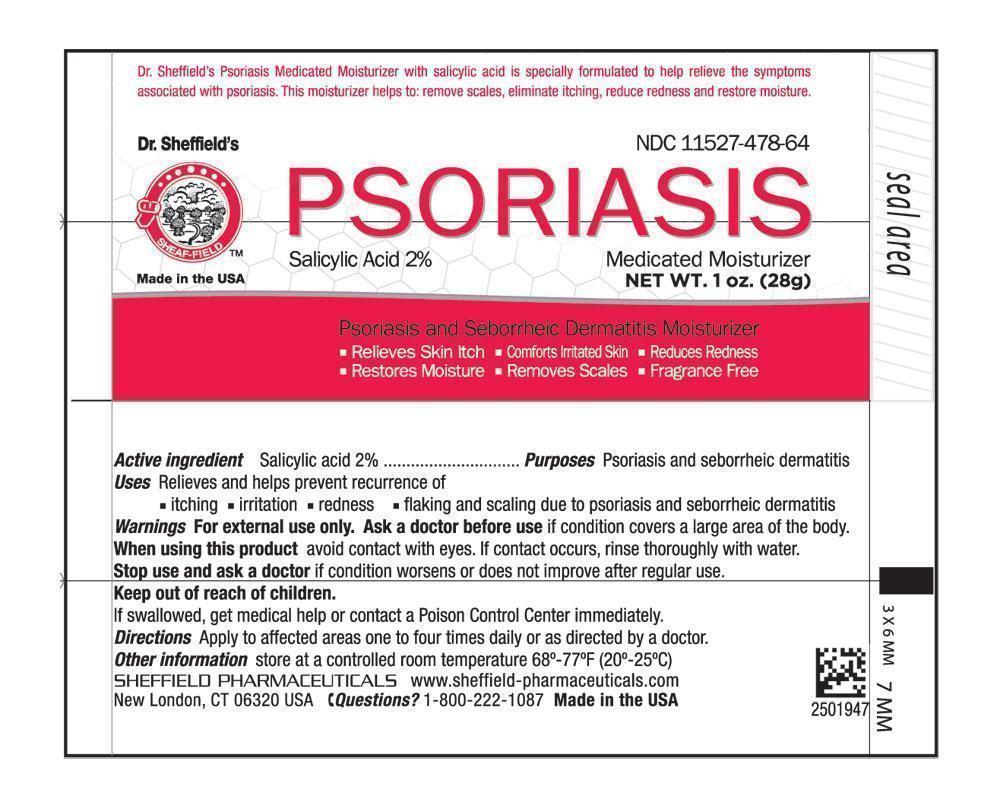 Dr. Sheffield Psoriasis Medicated Moisturizer (Psoriasis Medicated Moisturizer) Lotion [Faria Llc Dba Sheffield Pharmaceuticals]