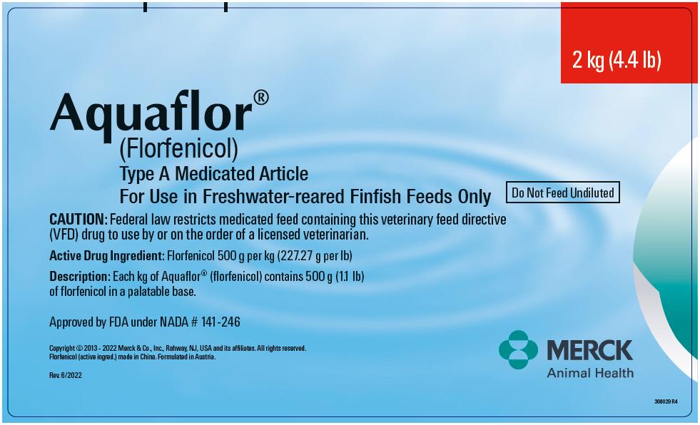 Aquaflor Type A Medicated Article (Florfenicol) Powder [Merck Sharp & Dohme Corp.]