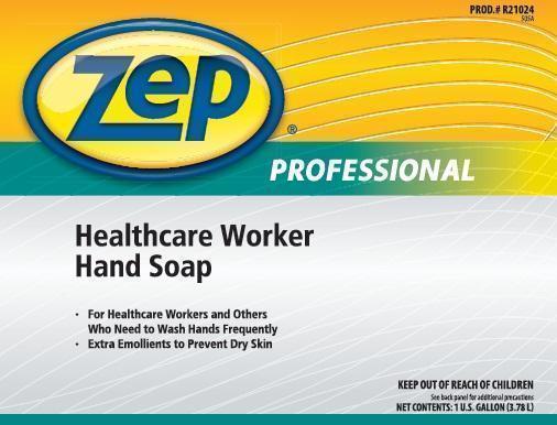 Zep Professional Healthcare Worker (Triclosan) Liquid [Zep Inc.]