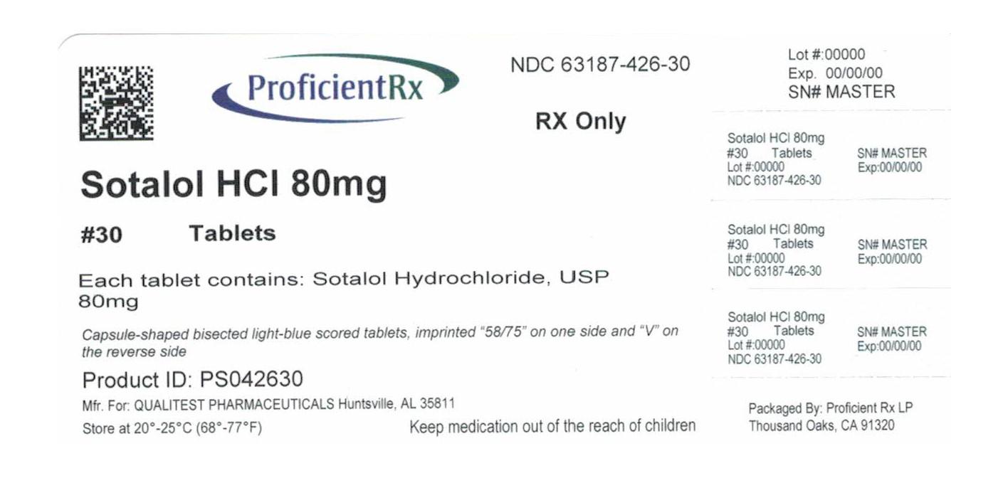 Sotalol Hydrochloride Tablet [Proficient Rx Lp]