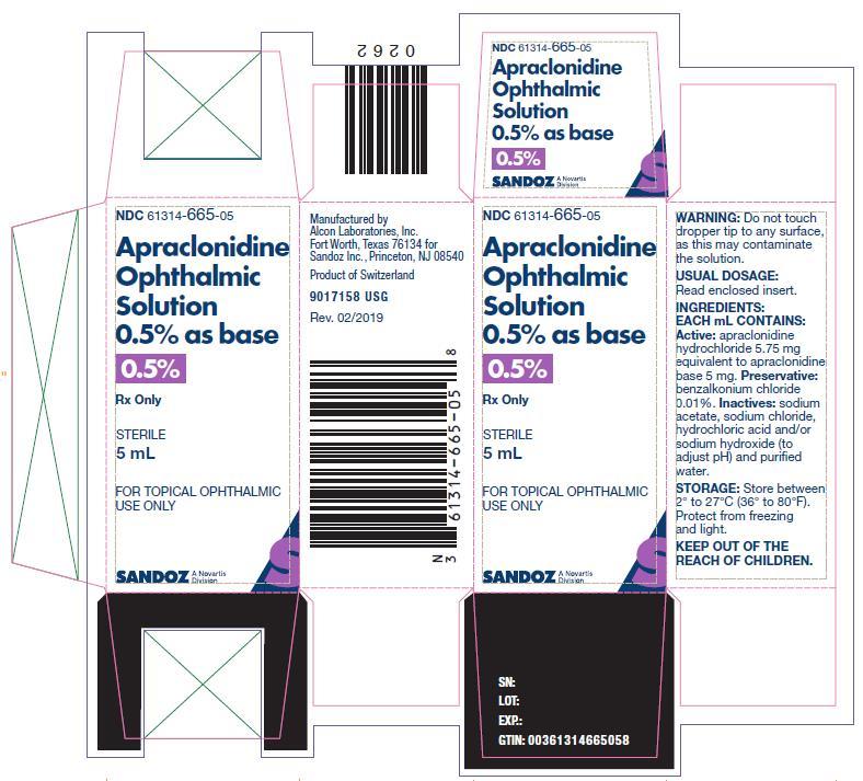 Apraclonidine Solution [Falcon Pharmaceuticals, Ltd.]