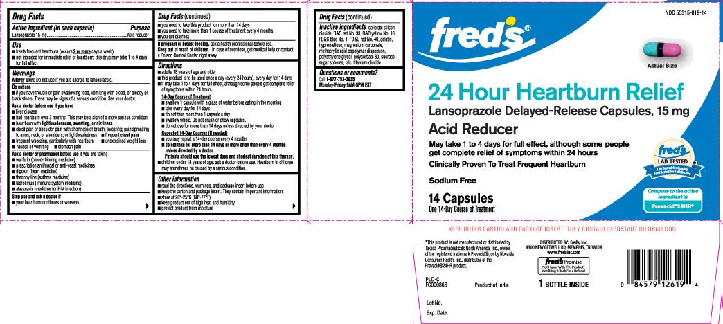 Lansoprazole Capsule, Delayed Release [Freds Inc]
