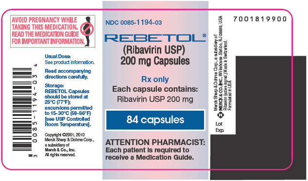 Principal Display Panel  - 84 Capsule Label