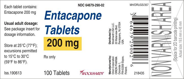Entacapone Tablet, Film Coated [Wockhardt Usa Llc.]