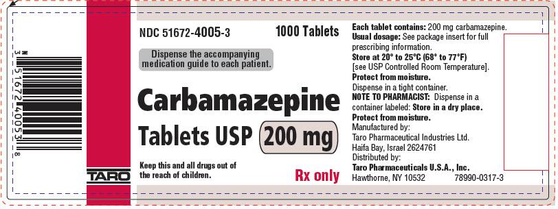 PRINCIPAL DISPLAY PANEL - 200 mg Tablet Bottle Label