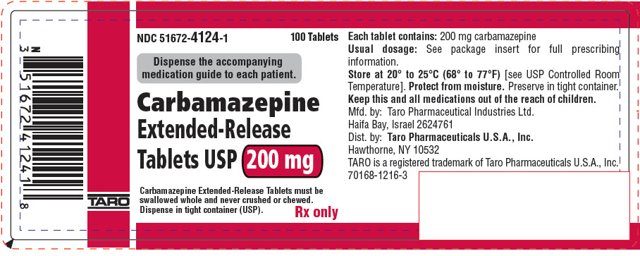 PRINCIPAL DISPLAY PANEL - 200 mg Extended-Release Tablet Bottle Label