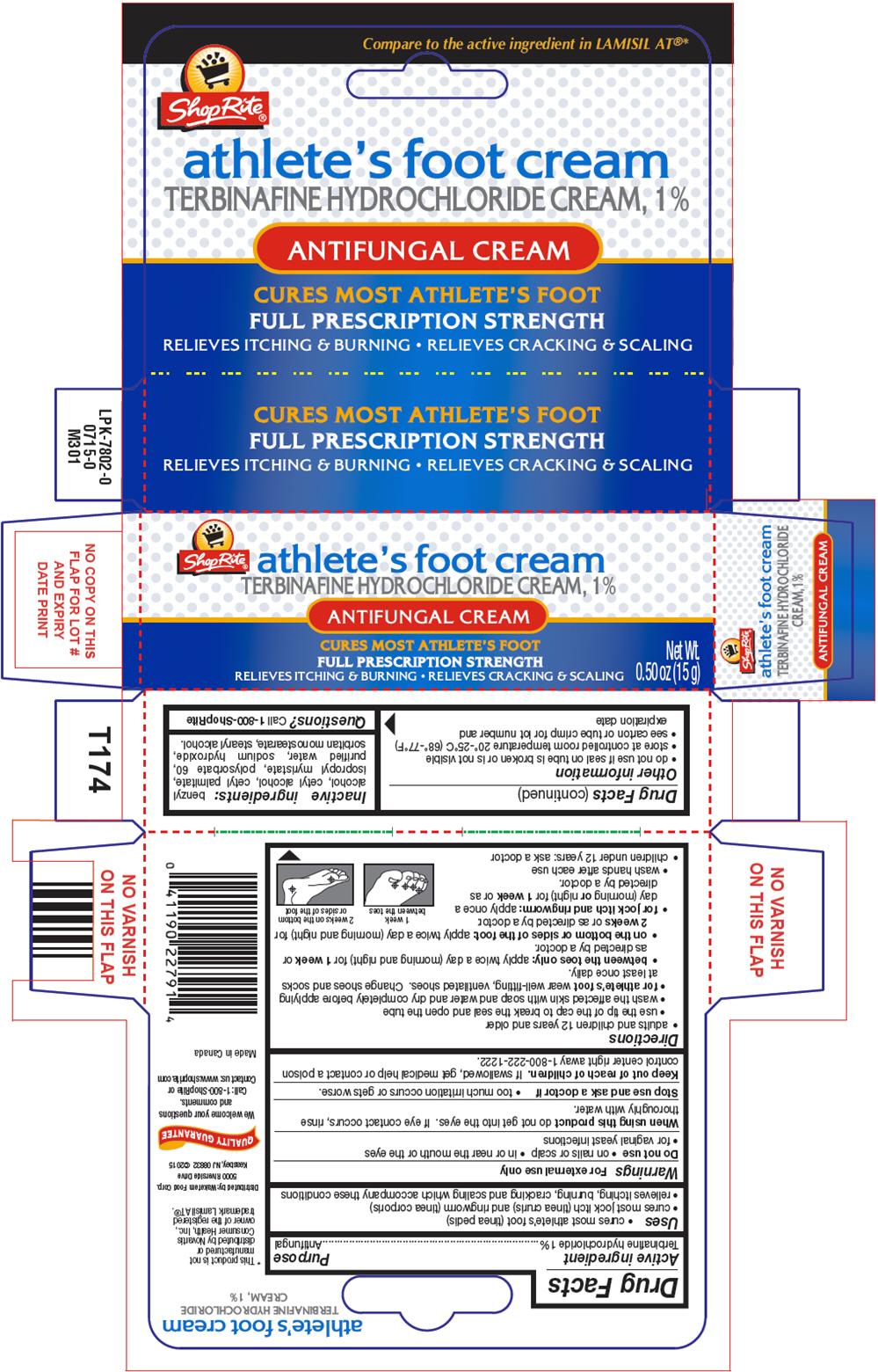 Shoprite (Terbinafine Hydrochloride) Cream [Wakefern Food Corporation]