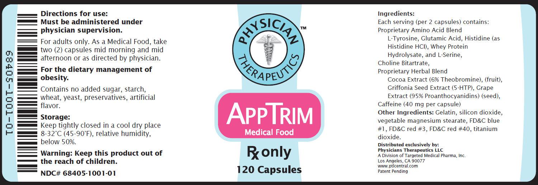 Appformin (Metformin Hydrochloride, Tyrosine) Kit [Physician Therapeutics Llc]