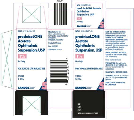 Prednisolone Acetate Suspension [Falcon Pharmaceuticals]