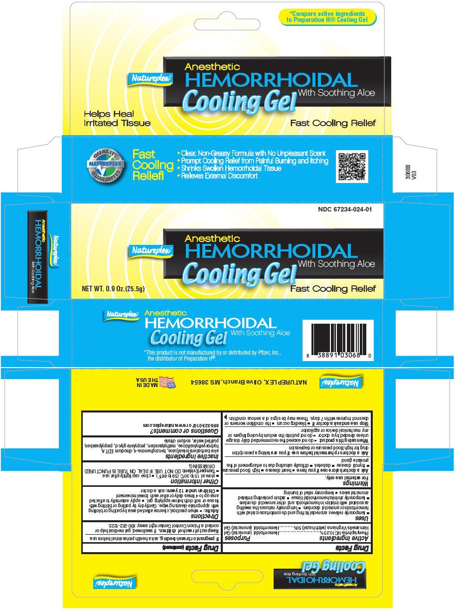 Natureplex Hemorrhoidal (Witch Hazel And Phenylephrine Hydrochloride) Gel [Natureplex Llc]