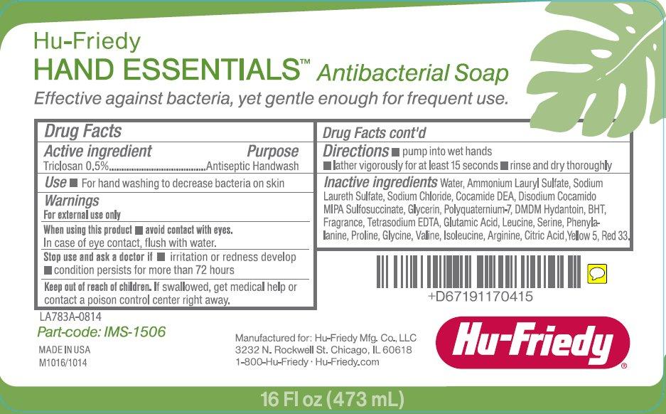 Hu-Friedy Hand Essentials Antibacterial Soap