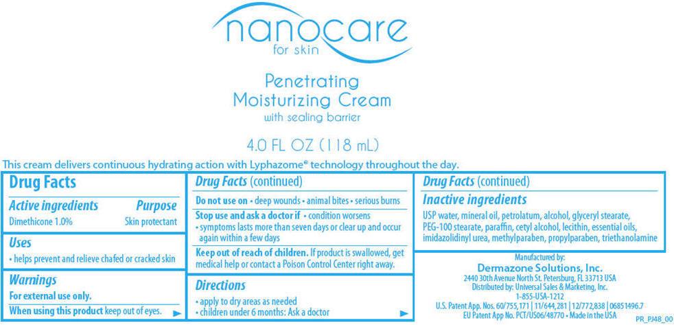 Nanocare (Dimethicone) Cream [Deramzone Solutions, Inc.]