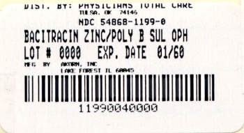 image of package label